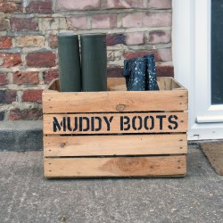 Personalised Crates & Planters