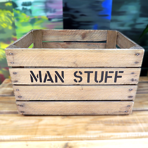 Man Stuff Storage Box