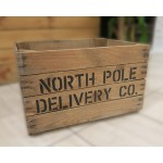 Christmas Eve Box - North Pole Delivery Co Crate