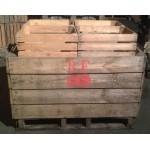 1 Large Apple Bin with 16 Type 4 Crates