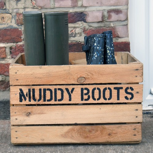 Boots and Shoe Box