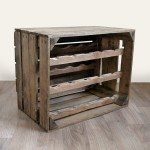 Apple Crate Wine Rack (15 Bottle) Natural