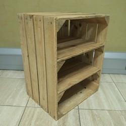 Apple Crate 2 Shelf Unit