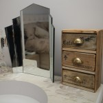 Tabletop Chest of 3 Drawers