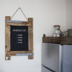 Rustic Hanging Chalkboard