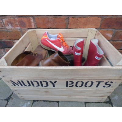 SHOE STORAGE: save your home from mud, mud, glorious mud!