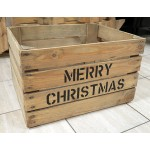 Merry Christmas Hamper Crate